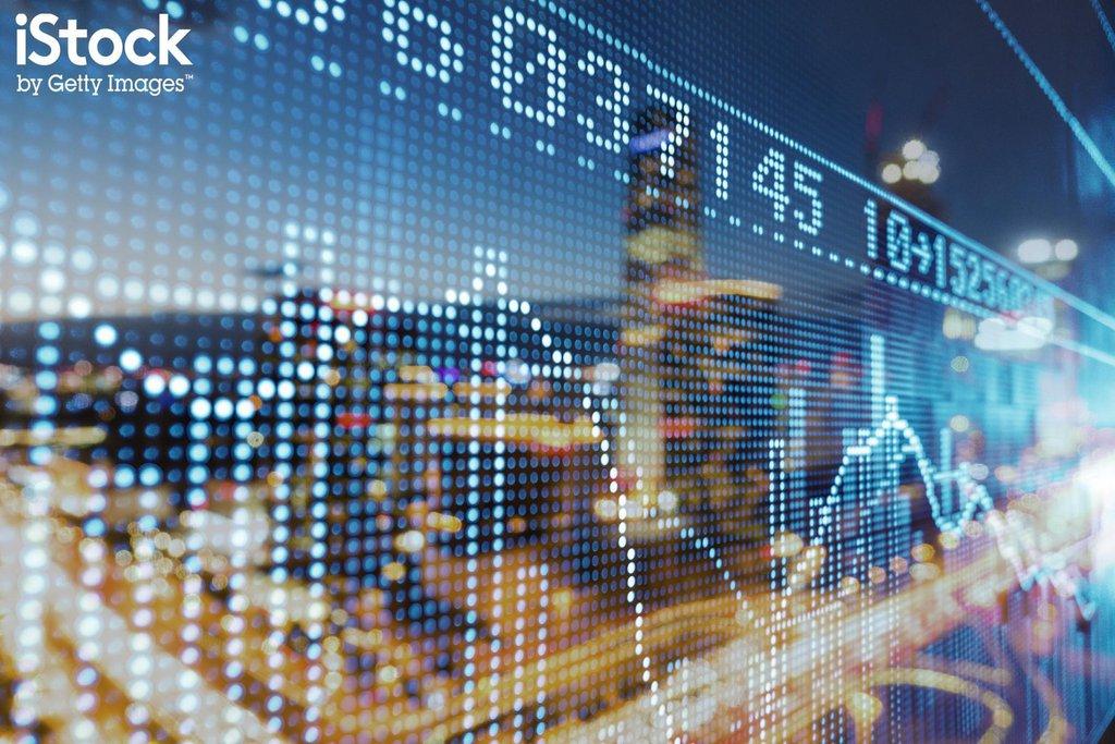Graphiques flux boursiers