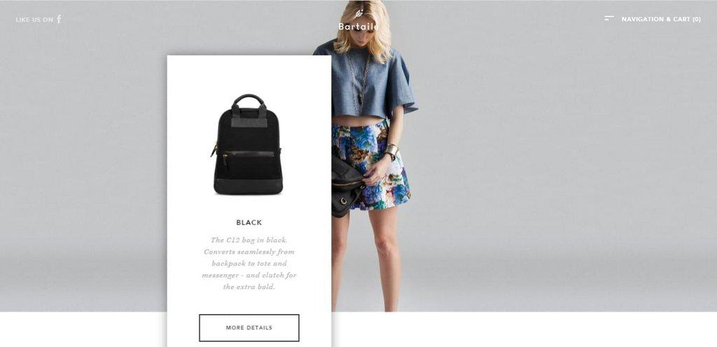 Bartaile – screenshot 2 – #webdesign #inspiration #design #ux #ui