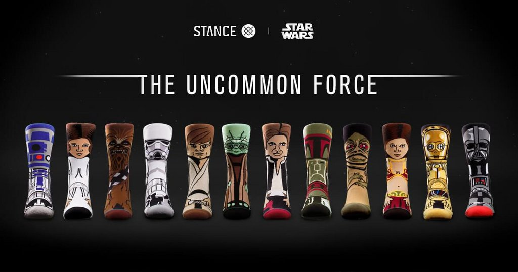 8 . Stance – Star Wars