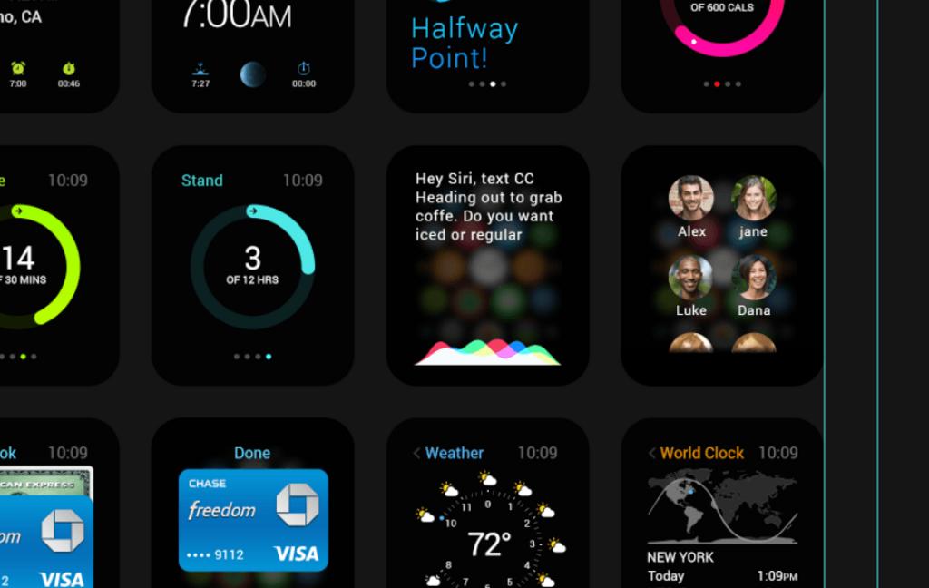 Apple Watch – Kit UI gratuit PSD-2
