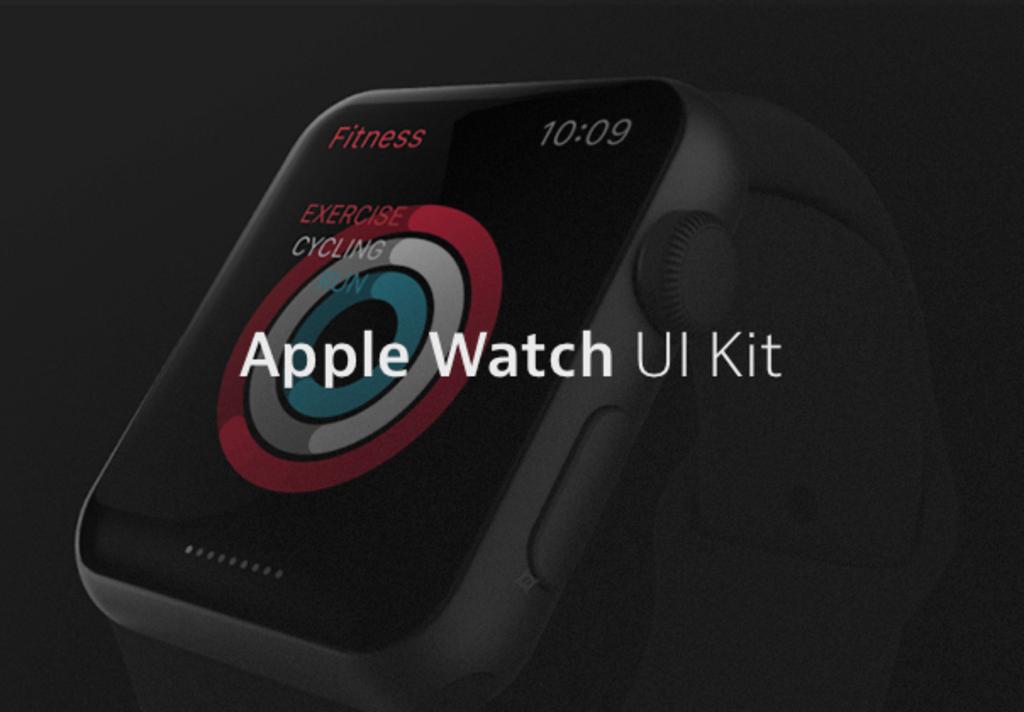 Apple Watch – Kit UI PSD & Sketch-1
