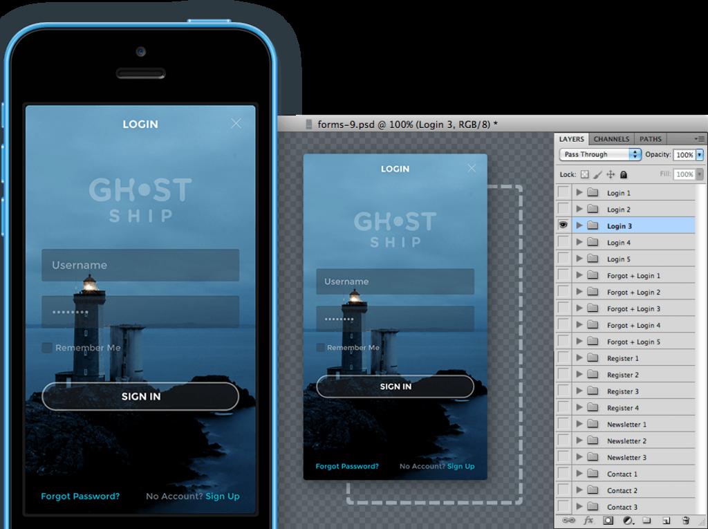 Ghost Ship – Kit UI-2