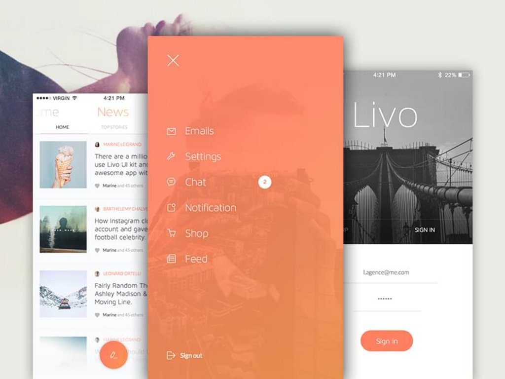 Livo – Kit UI mobile-2