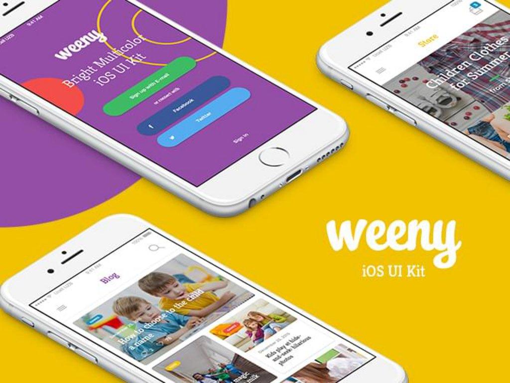 Weeny – Kit UI iOS-1