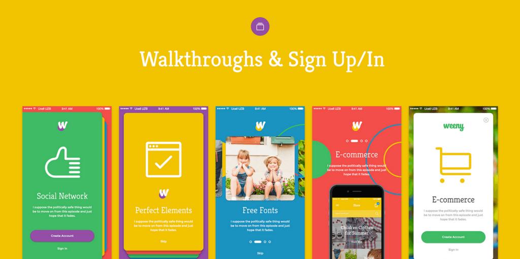 Weeny – Kit UI iOS-4