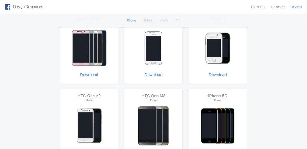 Mockups devices mobile, tablette, ordinateur & TV – Facebook Design-2