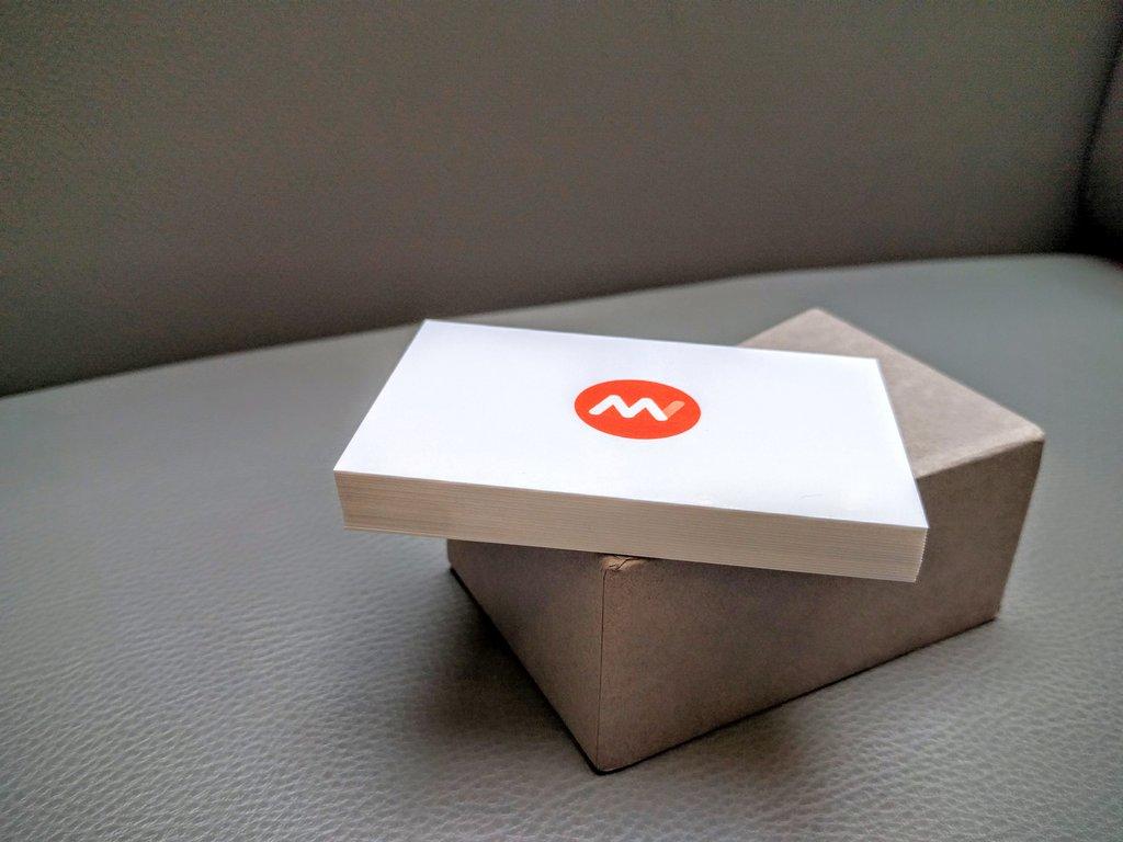 Cartes De Visite MOO Pour Le Magazine Du Webdesign