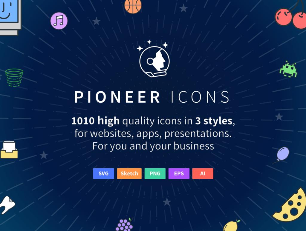 Icônes Pioneer-1