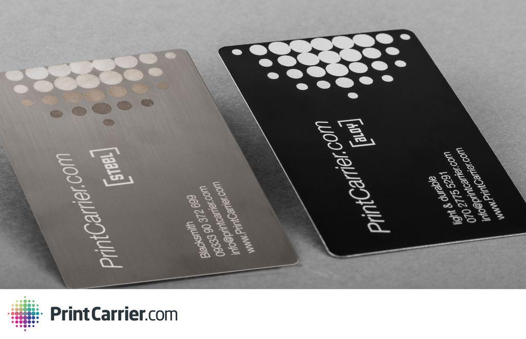 Capture - PrintCarrier.com - Luttez contre l'ennuyante carte de visite avec le bois, l'acier & le vinyle