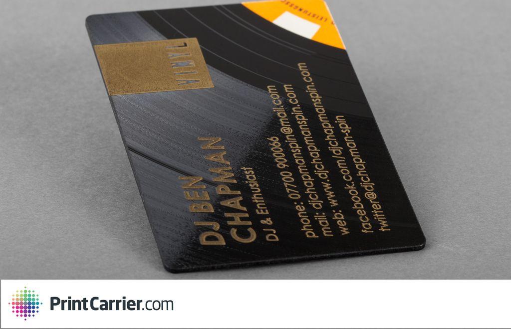 Printcarrier Carte De Visite Vinyle
