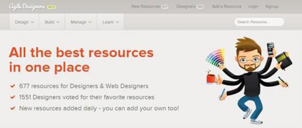Ressource Web design 11 - Agile Designers - le top des ressources pour les web designers et designers graphiques