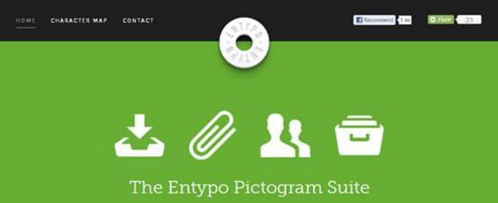 Ressource Web design 3 - Entypo - 250 pictogrammes gratuits en eps, pdf et psd