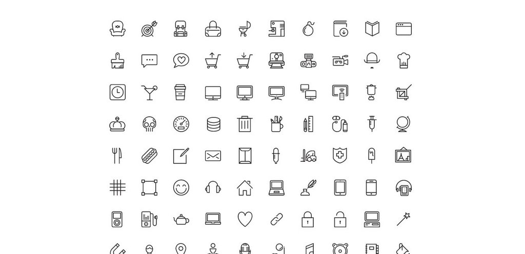 Stream line icons-1
