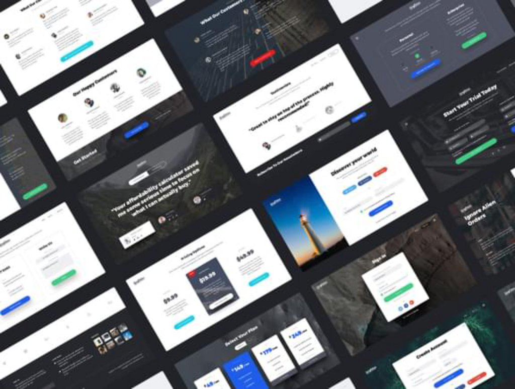 Singleton – Kit UI landing pages-3