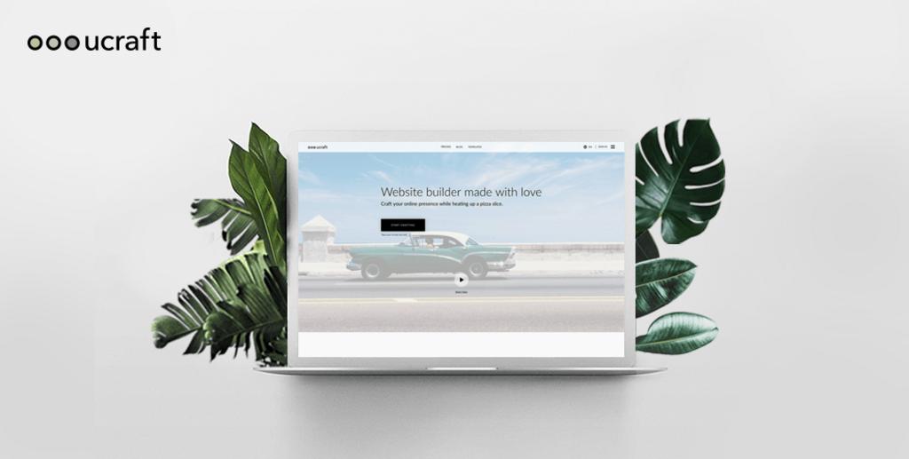 Capture - Ucraft test 2017 – Logiciel de création de site Web