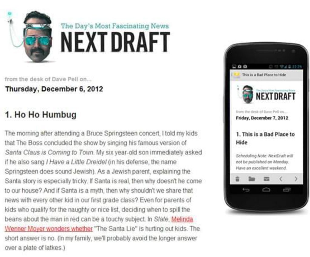 Template mail mobile Next Draft