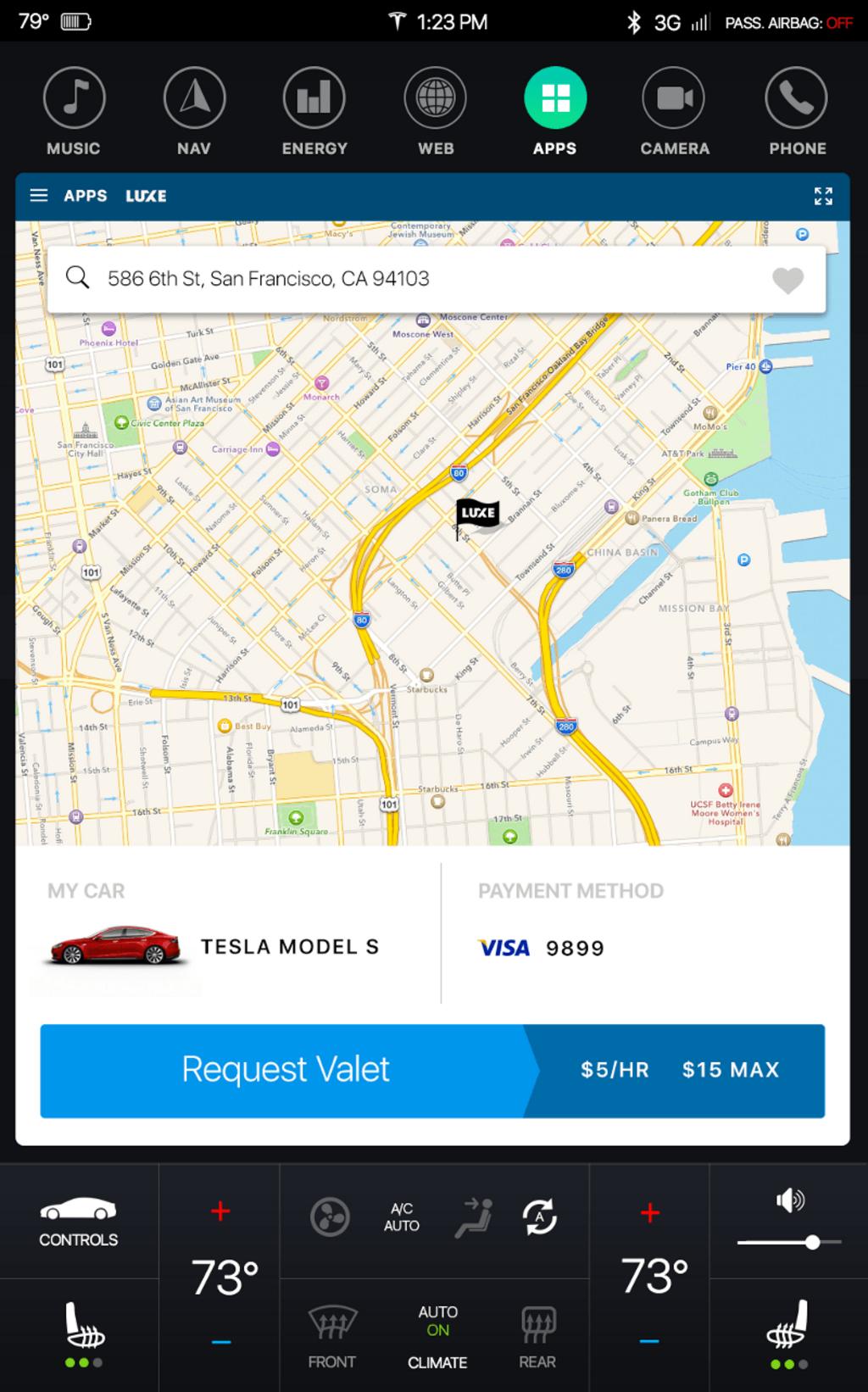 Tesla – Redesign de la console centrale-3