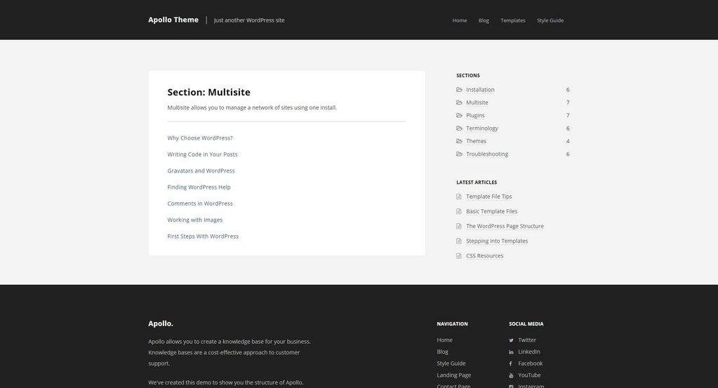 Apollo – Thème WordPress-3