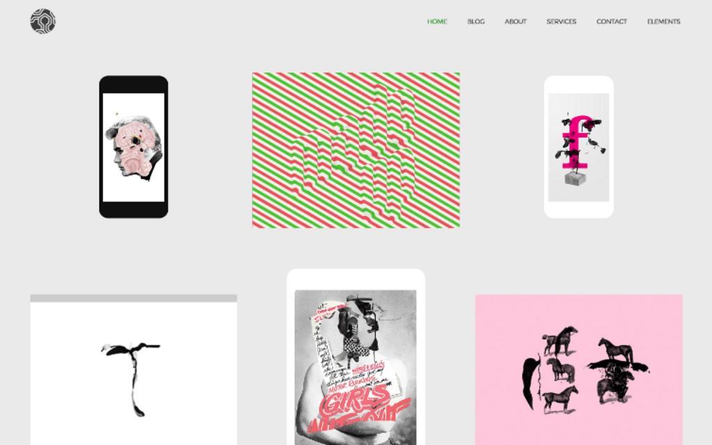 Colors creative portfolio – Thème WordPress-2