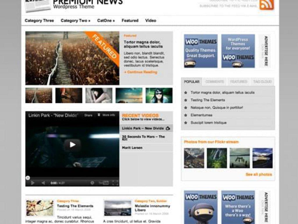thème wordpress gratuit news