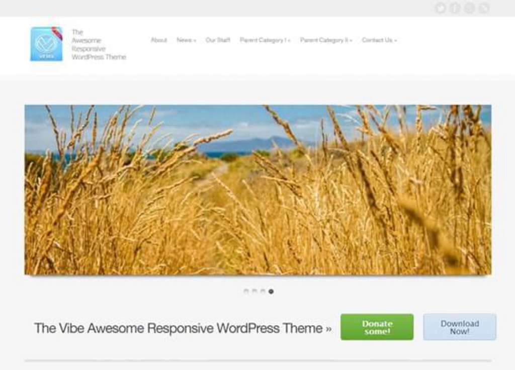 Vflex - template WordPress gratuit responsive