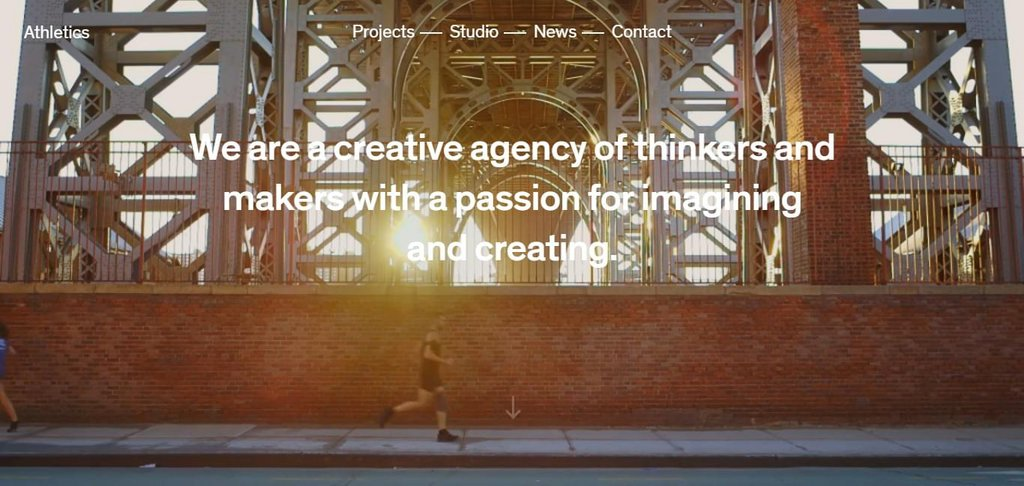 Athletics — A cross-disciplinary creative agency based in New York City