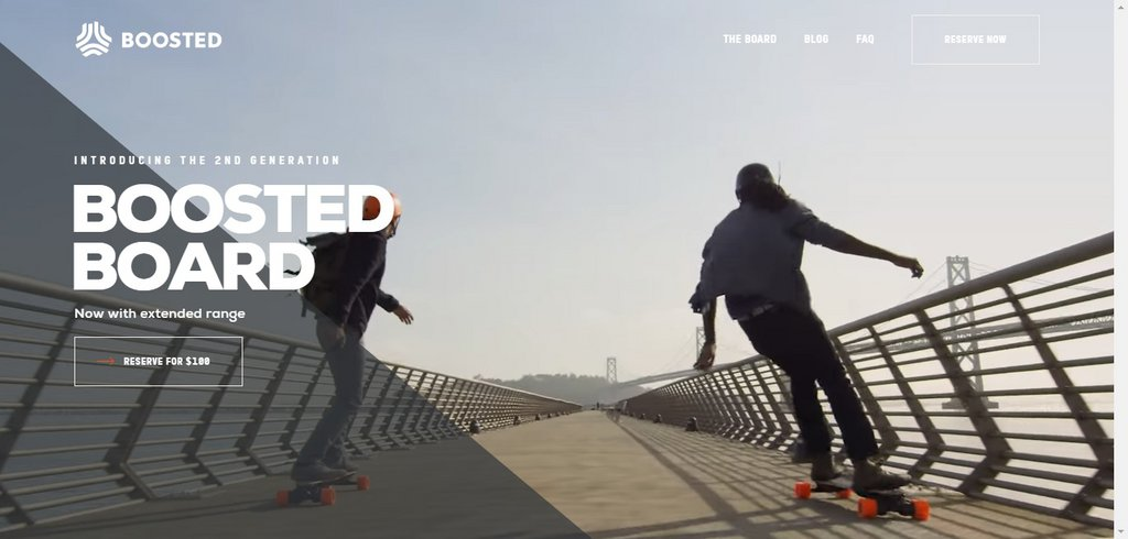 Boosted - The Ultimate Electric Skateboard