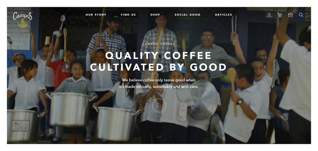 Campos Coffee - Quality Coffee Cultivated by Good