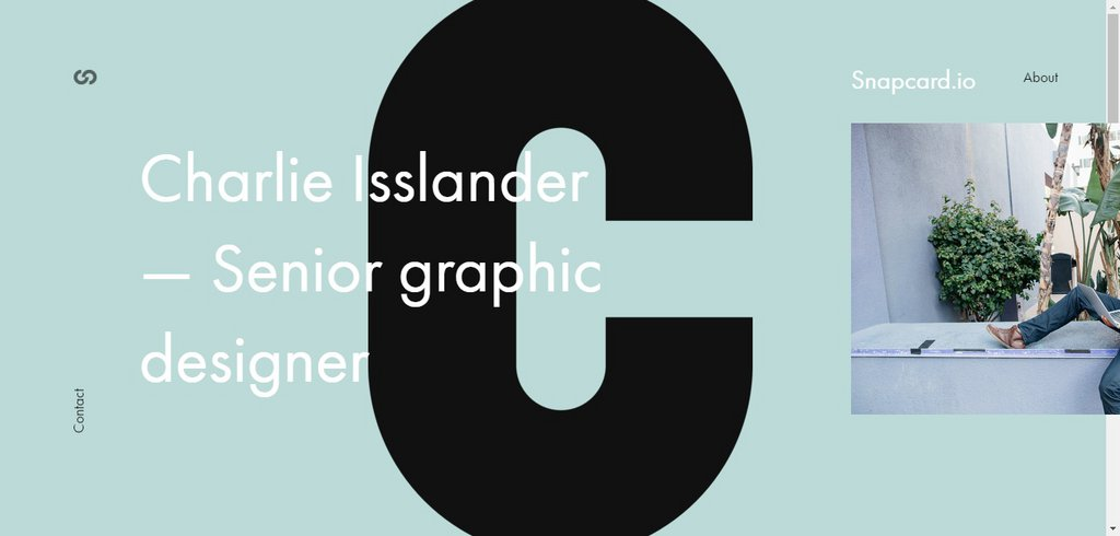 Charlie Isslander - Senior graphic designer from Prague