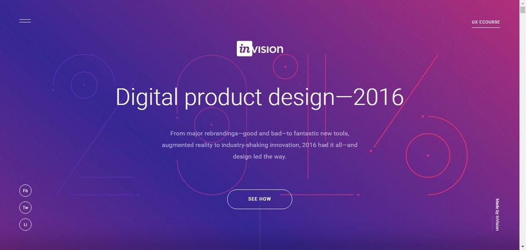Digital product design—2016