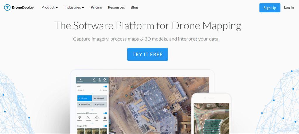 DroneDeploy – screenshot 1 – #webdesign #inspiration #design #ux #ui