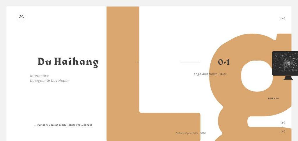 Du Haihang - Interactive Designer/Developer