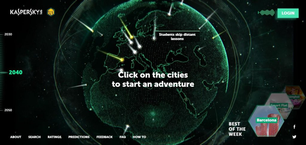 Earth 2050 – screenshot 1 – #webdesign #inspiration #design #ux #ui