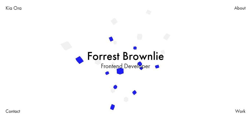 Forrest Brownlie | Web Developer