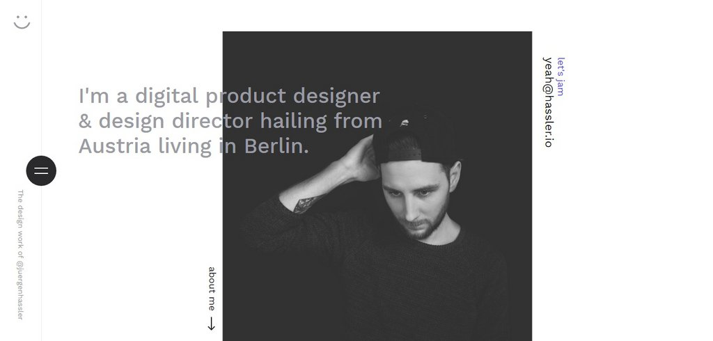 Jürgen Hassler - Digital Product Designer & Design Director