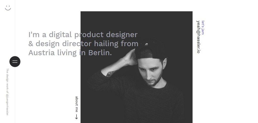 Jürgen Hassler - Digital Product Designer & Design Director