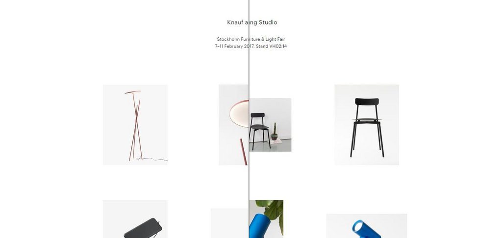 Knauf and Brown & Tom Chung Studio – screenshot 1 – #webdesign #inspiration #design #ux #ui