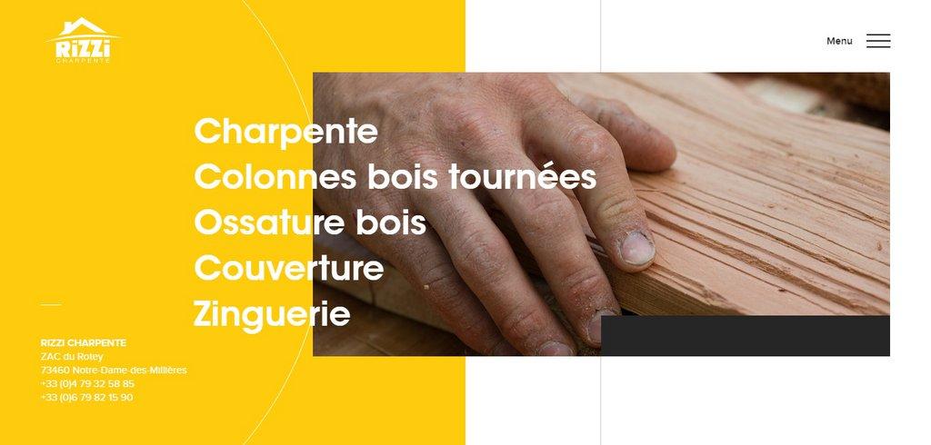 Rizzi Charpente Artisan charpentier à Albertville Savoie