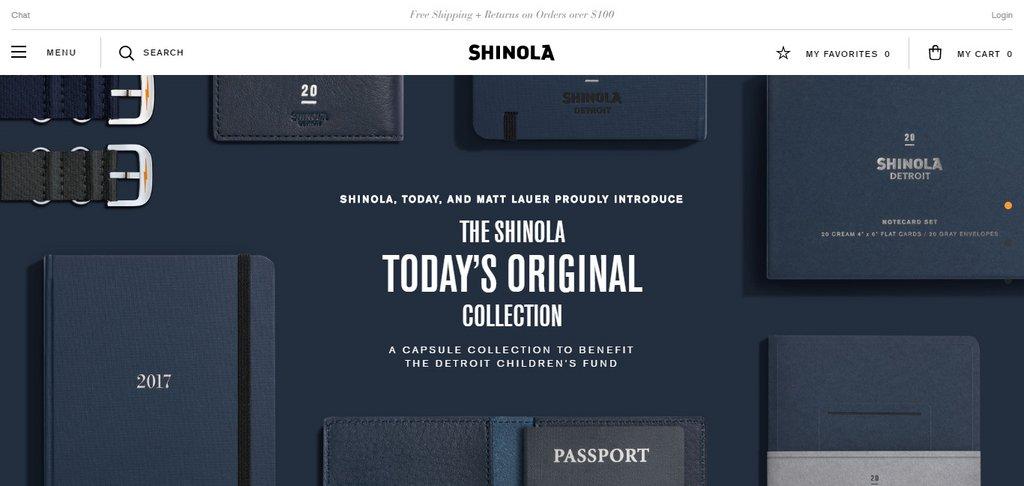 Shinola – Official Site