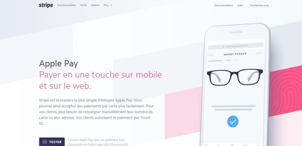 Stripe: Apple Pay on the Web