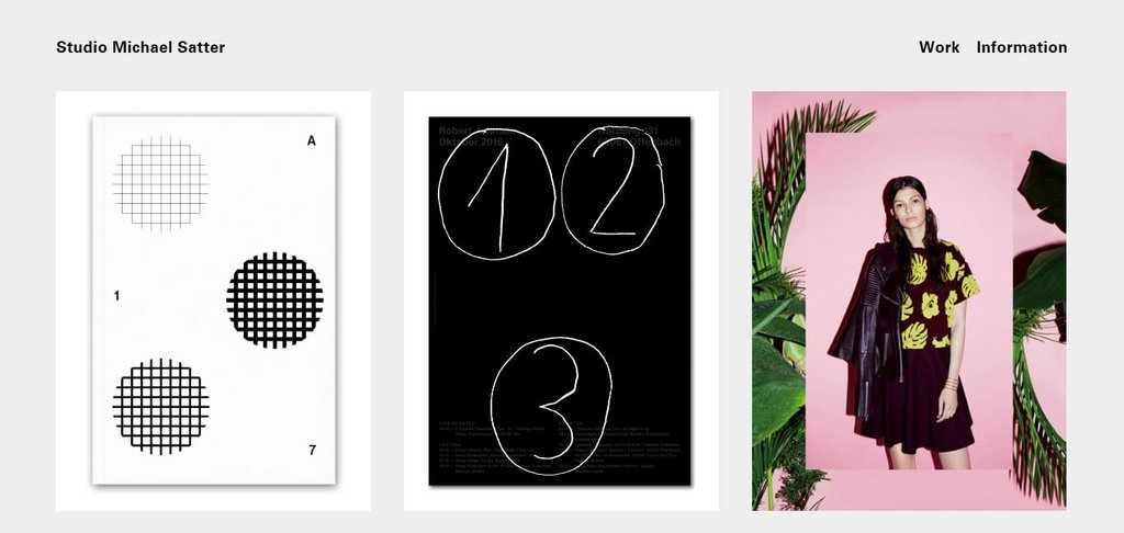 Studio Michael Satter – screenshot 1 – #webdesign #inspiration #design #ux #ui