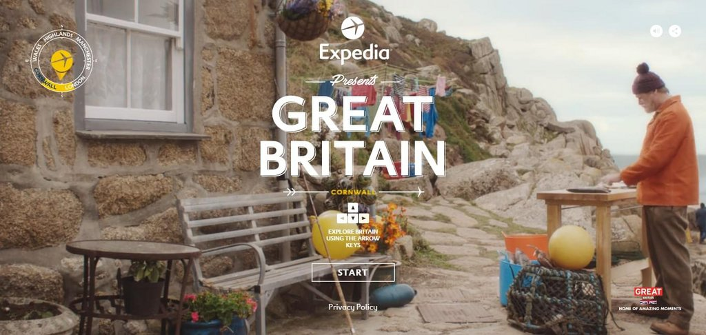 The Best of Everything in Britain – screenshot 1 – #webdesign #inspiration #design #ux #ui