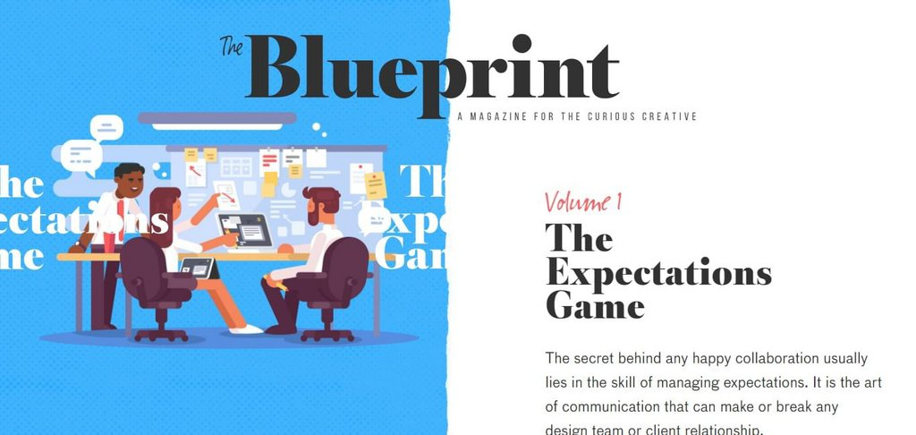 The Expectations Game - A Magazine For The Curious Creative