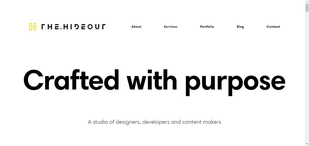 The Hideout - Creative Design and Digital Agency in Kent