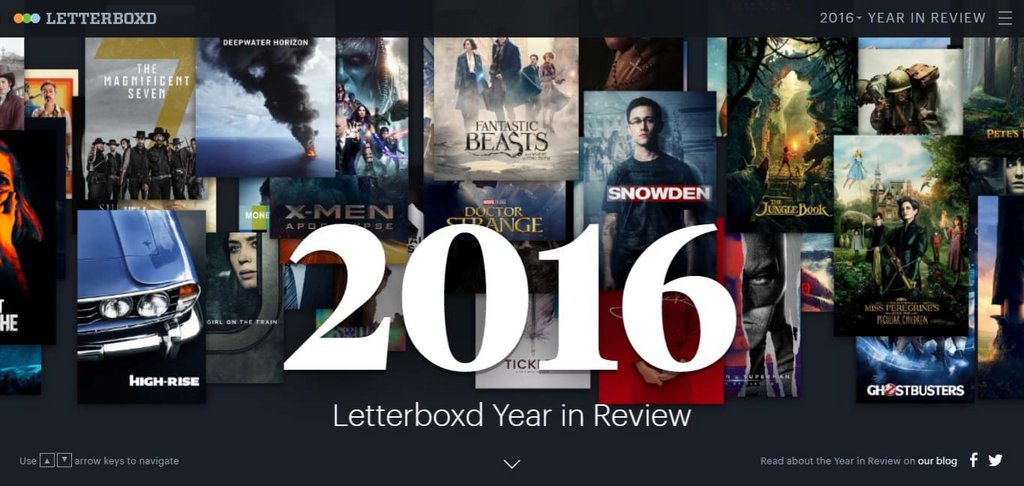 The Letterboxd 2016 Year in Review