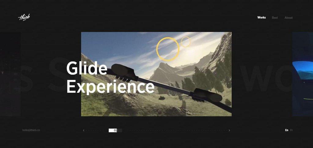 Thieb - Interactive, VR & Motion Designer