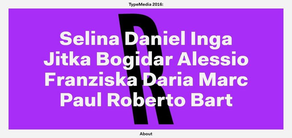 TypeMedia 2016