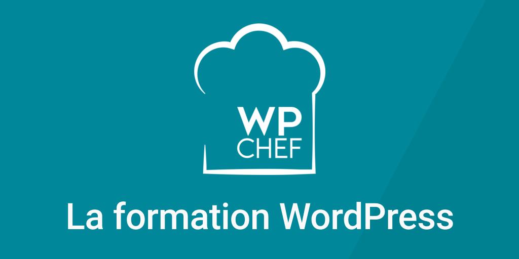 Capture - WPChef - la formation WordPress pour débutant en français
