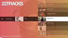 Concept App TV – 22tracks
