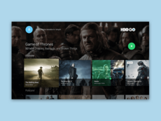 Concept Android TV – HBO Go